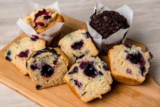 Lava-Muffins