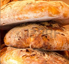 """Closed-up of piled-up loaves as the featured image of """"ciabatta breads""""."""